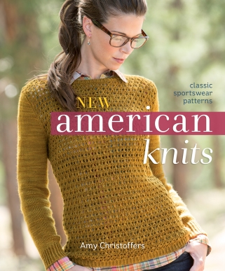 New American Knits - jacket art