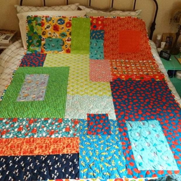 my son's quilt
