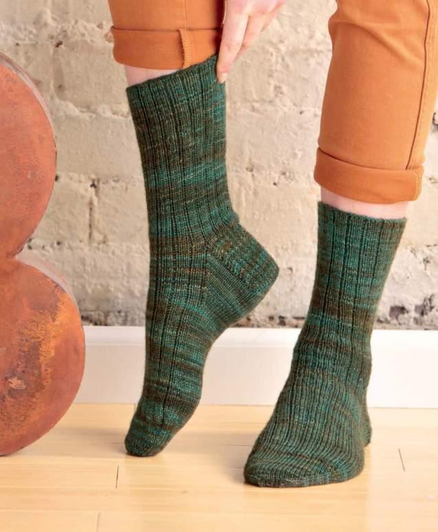 Sockupied - Ann's Go-To Socks beauty shot