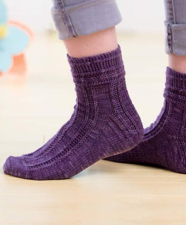 Sockupied - Muscadine Socks beauty shot