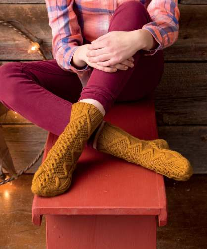 Marjan Hammink's A Case for Lace Socks