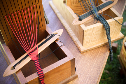 Colonial-Era Looms for Ribbons & Ties