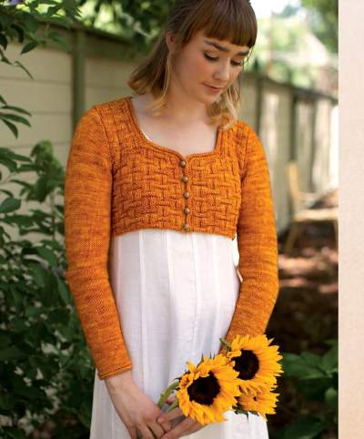The Best of Jane Austen Knits - Austen Spencer beauty shot