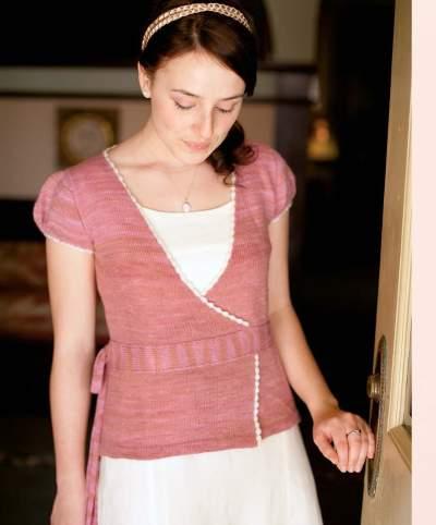 The Best of Jane Austen Knits - Cloudette Cardigan beauty shot