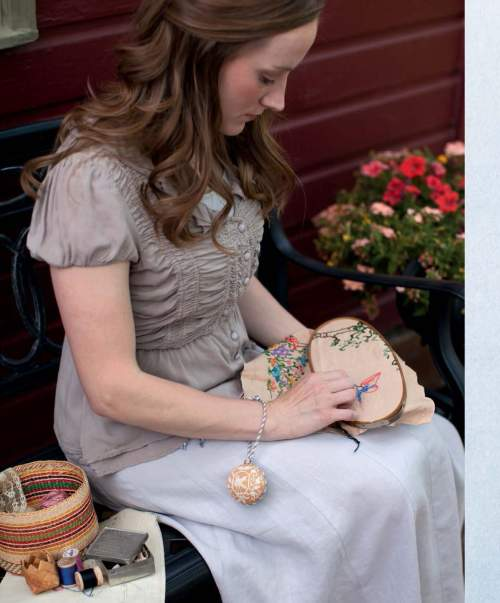 The Best of Jane Austen Knits - Love and Loyalty Pin Ball beauty shot