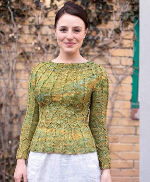 The Best of Jane Austen Knits - Sotherton beauty shot