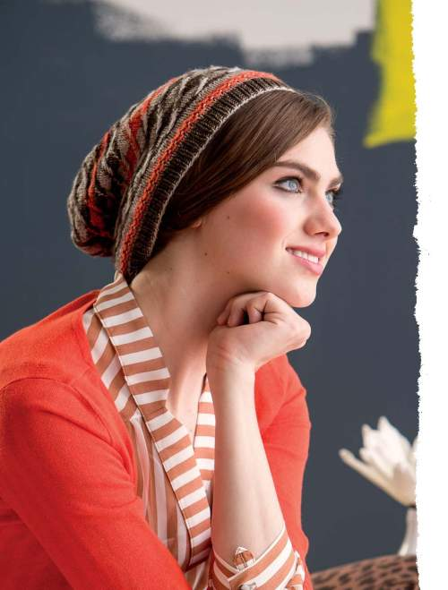 The Art of Slip-Stitch Knitting - Spiral Hat beauty image
