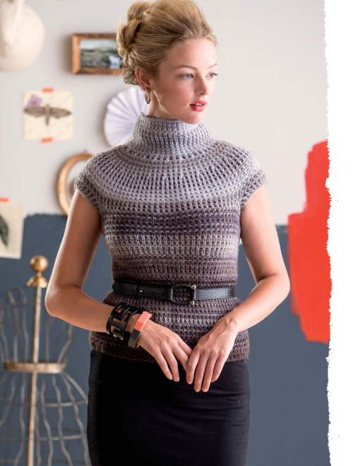 The Art of Slip-Stitch Knitting - Svitání Pullover beauty image